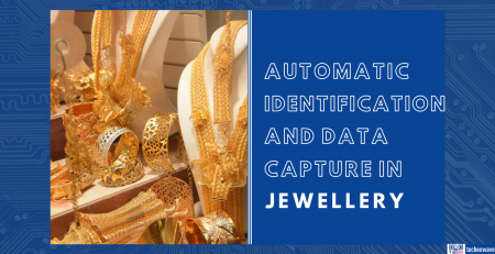 Automatic identification and data capture (AIDC) in jewellery