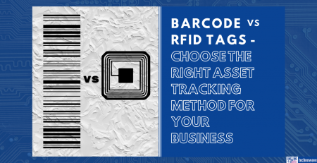 Barcode vs RFID tags - differences in asset tracking