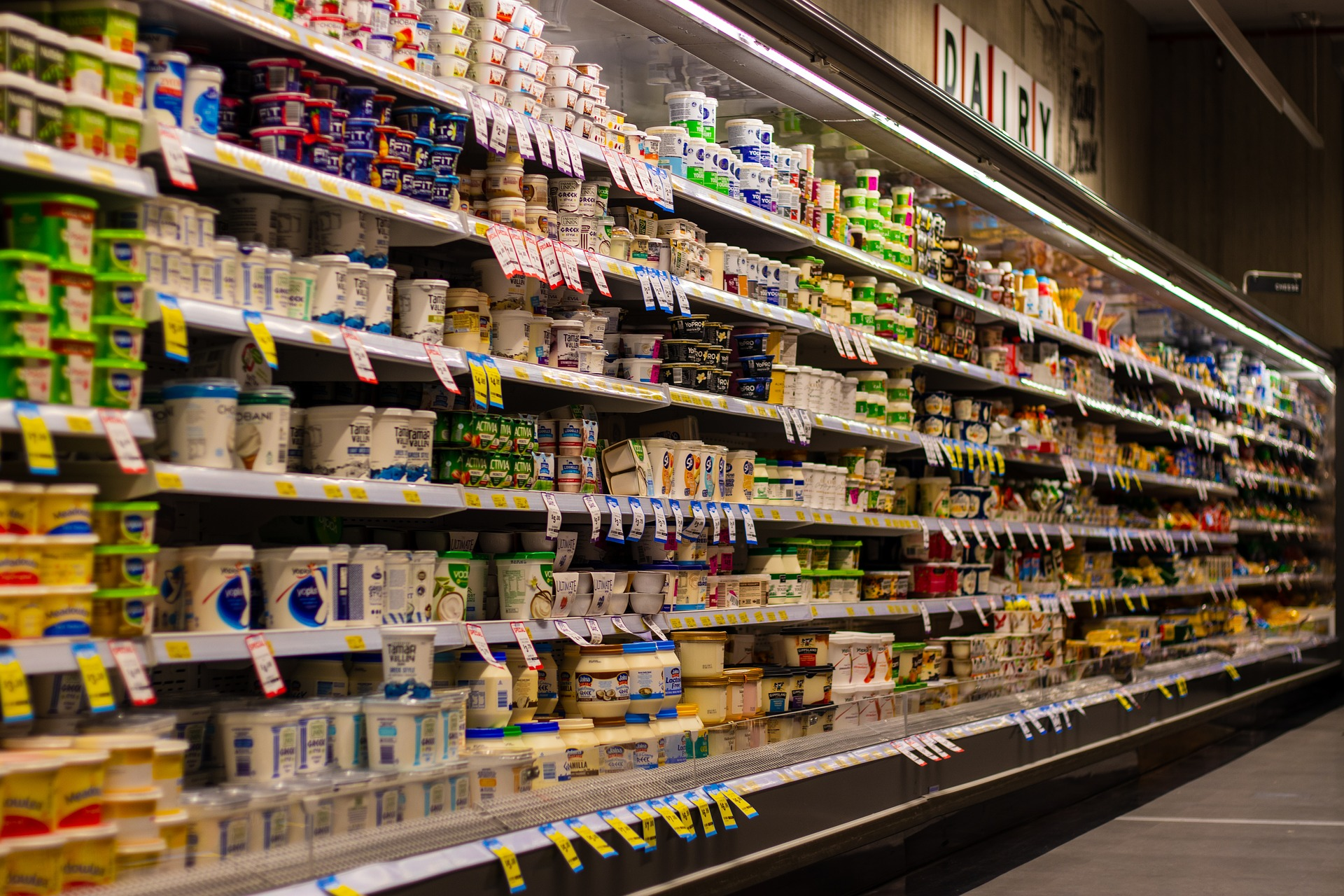RFID tags for retail supermarkets and stores