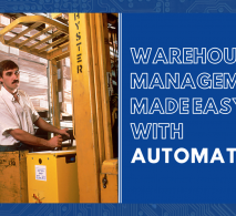 Warehouse management made easy with automation